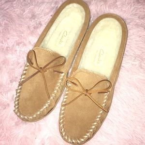 Shoes - Clark's never worn moccasins
